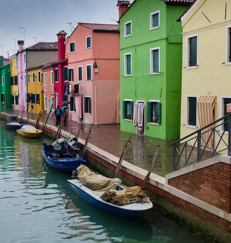 crazy colorful Burano