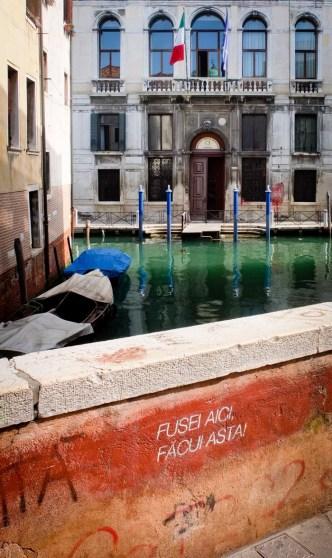canal bridge in Venice
