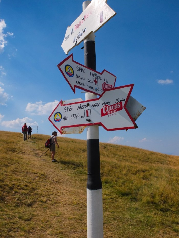 all the roads that go to Piatra Mare