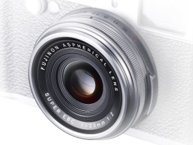 the 23mm F2.0 lens on the Fujifilm X100s