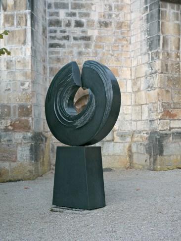 Eternité, granit d'Inde, 2008, 256 x 156 x 45 cm