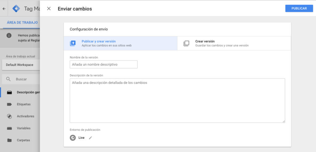 Como agregar Google Tag Manager en WordPress 8