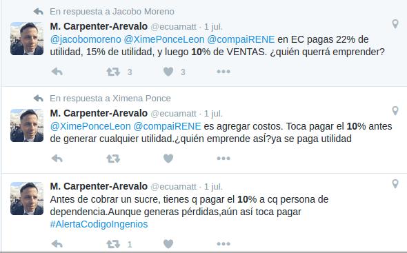 #AlertaCodigoIngenios