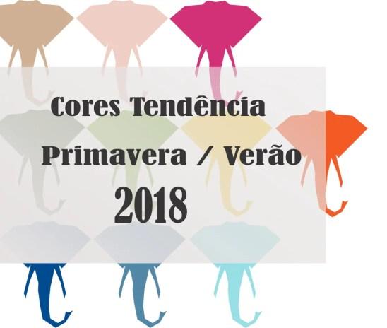 Cores Tendência Verão 2018
