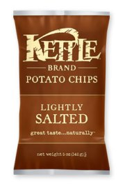 Lightly Salted Kettle Chips