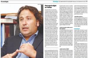 Entrevista El Mercurio Valpo 2011
