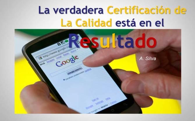 Huella Digital y Certificación de la Calidad en la Era 3.0.