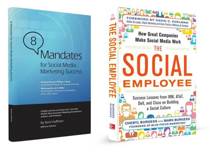 Dos libros imperdibles si quieres ser de los mejores en social media.