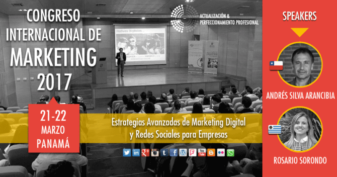 andres-silva-arancibia-rosario-sorondo-congreso-internacional-de-marketing-digital-panama-2017