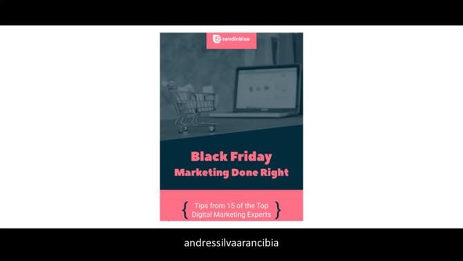 ebook, black friday. marketing done right, andres silva arancibia