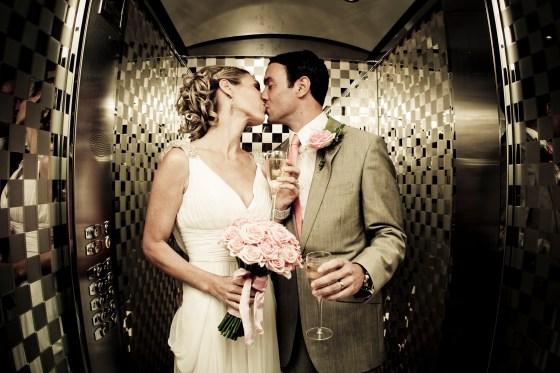 The wedding of  Dan & Rose - London