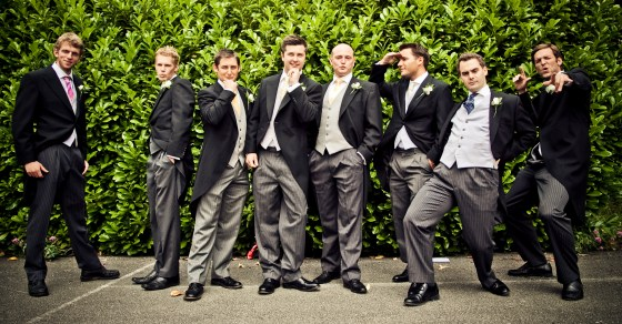 The Boys - UK Wedding photography