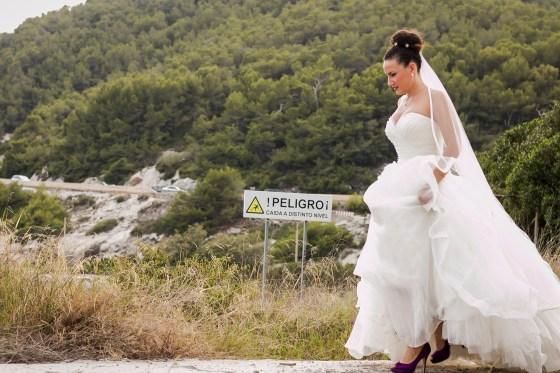 La novia, sesion de post boda en españa