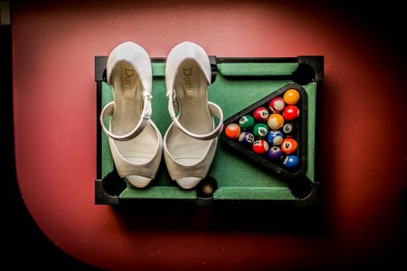 los zapatos de ls novia