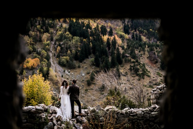 fall elopement