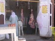 Carnisseria al carrer. Assuan. Egipte