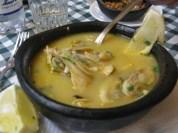Sopa de peix a Puerto Natales. Xil.le
