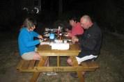 Barbacoa a Taupo. Nova Zelanda