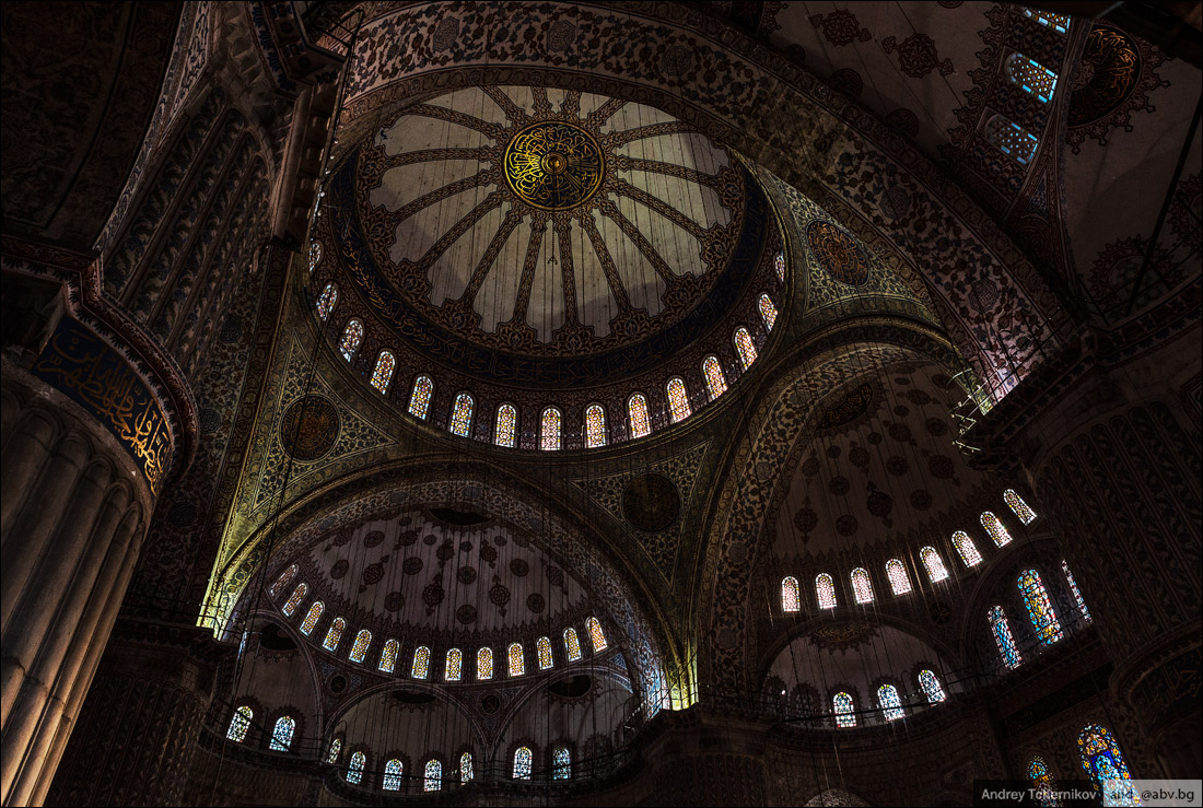 Turkey. Istanbul. Sultan Ahmed Mosque 2