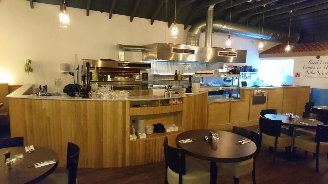 conversion of retail unit to award winning italian restaurant (5)