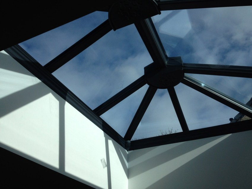 feature glazed cupola roof system
