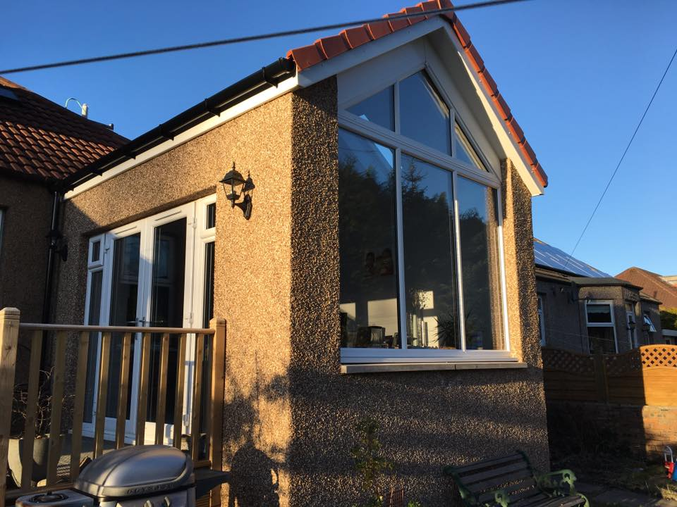 gable fronted extension