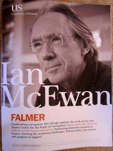 Ian McEwan in Falmer magazine
