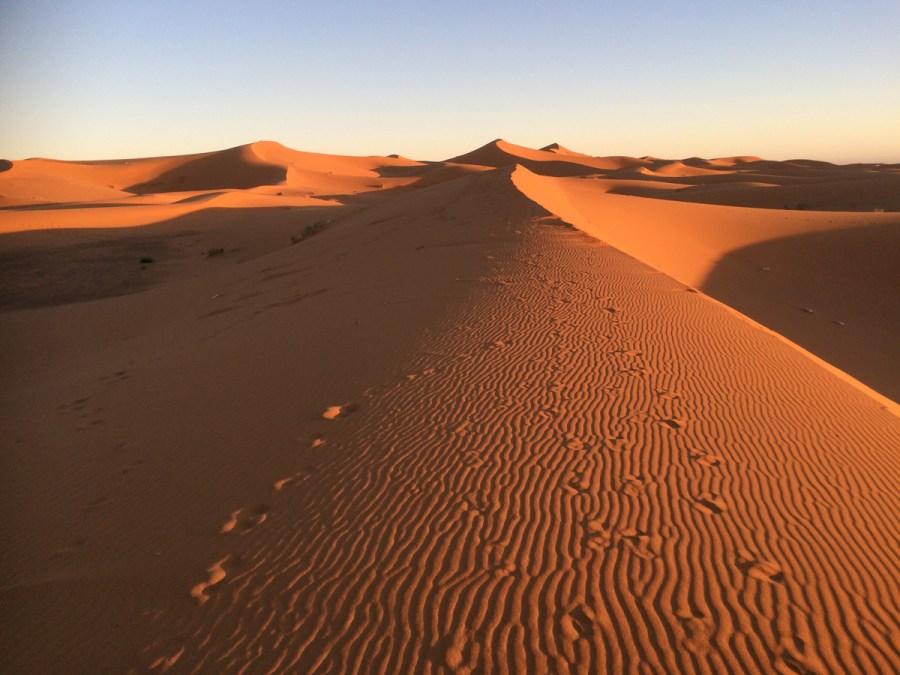 Dunes near Merzouga