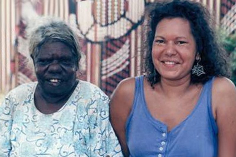 Marie Munkara and her mother Judy