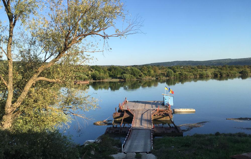 Moldova's border crossing with Ukraine