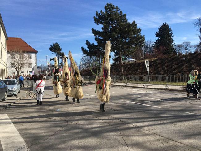 Kurenti in Ptuj Slovenia