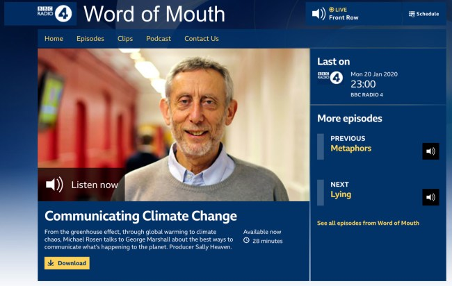 BBC Word of Mouth podcast