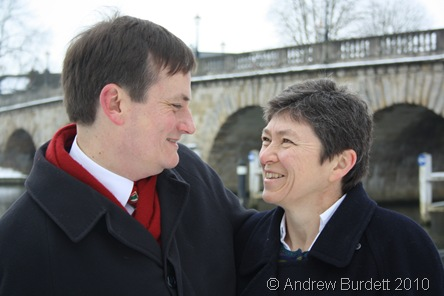 JUST THE TWO OF US_Mum and Dad outside Maidenhead Bridge.
