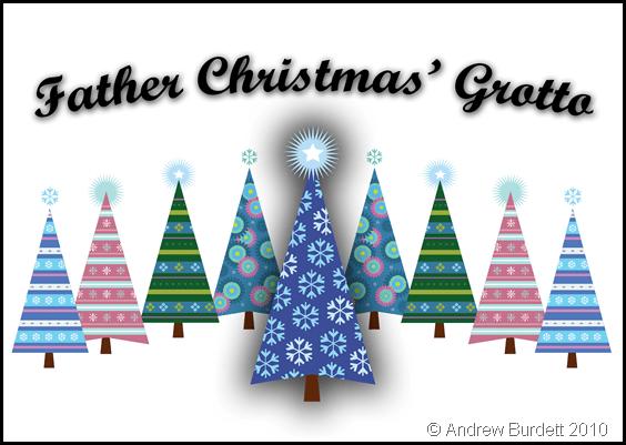 Santa's Grotto Sign