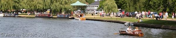 RIVERSIDE_The riverside at Stratford.