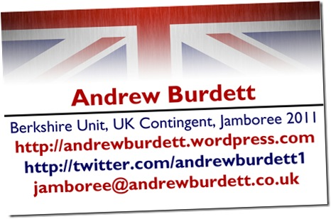 HAVE A CARD_My Jamboree business cards that I produced.