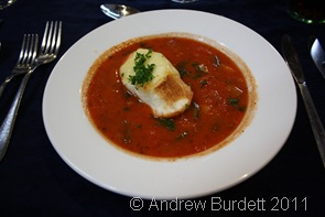 LOVELY STUFF_My delicious starter, tomato broth.