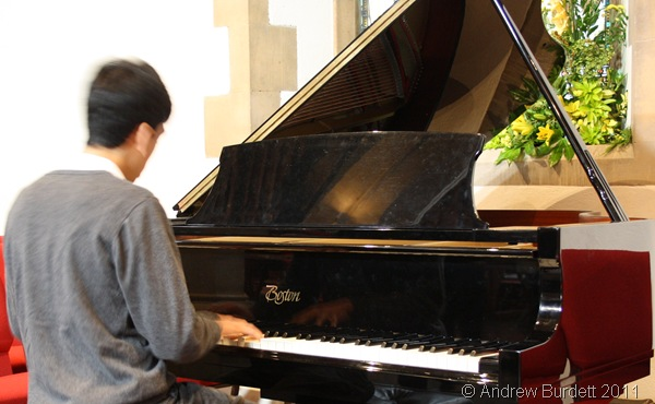 PIANO MAN_Andrew Gallagher reciting music by Brahms.