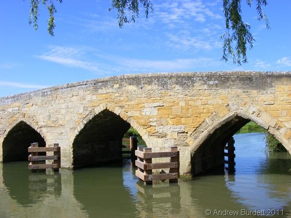 PRETTY BRIDGE_A bridge seen during Sunday morning's paddle.