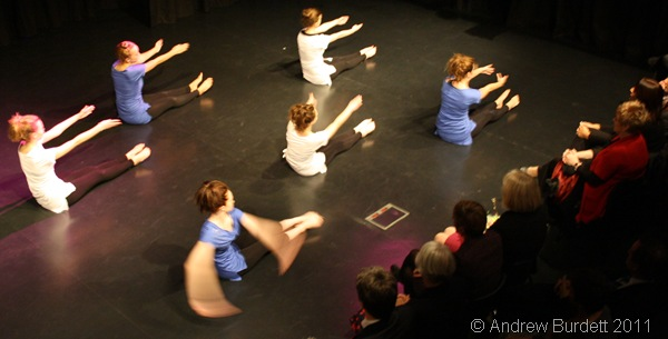 DO YOUR THING_Year 11 dancers perform a routine.