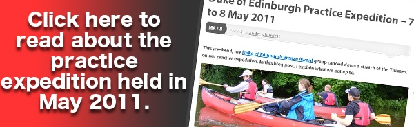 Click here to read about the practice expedition held in May 2011.