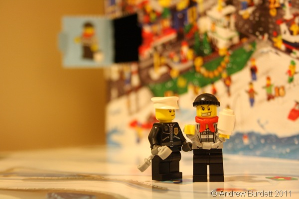 NEVER TOO OLD_My 22-year-old brother will be excitedly counting down the days to 25 December with a Lego model each day.