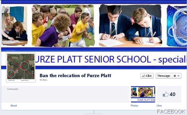 SOCIAL MEDIA COMMENT: 40 people so far have given the thumbs-up to the thumbs-down of Furze Platt's relocation proposals.