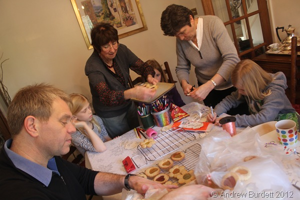 PHOTO OF THE WEEK: Mother's Day biscuits in the assembly line. (IMG_9057_ARB)