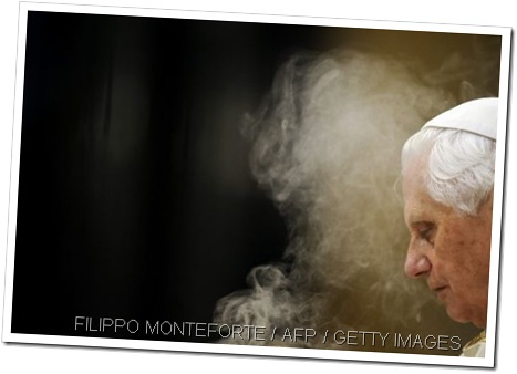 SNIFFING OUT THE POPE: The Pope is to get a new smell.