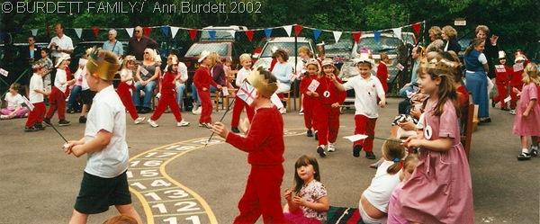 THOSE WERE THE DAYS: Processions at Burchetts Green Infants School in 2002. (June2002_GoldenJubileeBurchettsGreen-1)