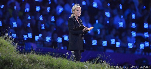 ARE YOU SITTING COMFORTABLY: JK Rowling reading from Peter Pan.