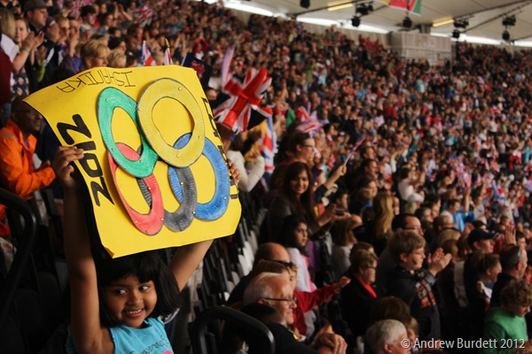 SIGN OF SUPPORT: The supportive atmosphere inside the venues was electric, none more so than the Stadium itself. (IMG_2636)