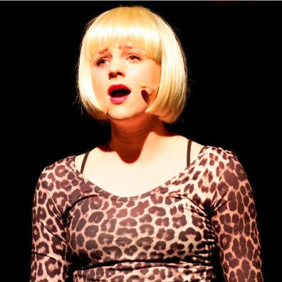 BIG SOLO: The beautiful Audrey (played by the stunning Tilly Mitchell) takes a solo. (IMG_3391_AlexMeade)