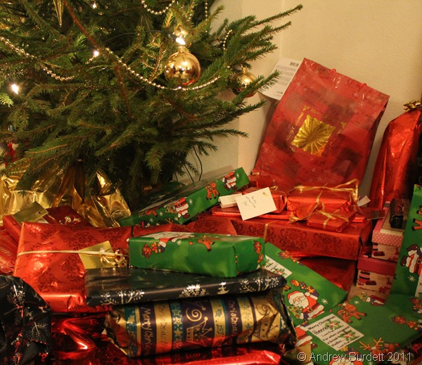GIFTS UNDER THE TREE: It's not presents that the majority of people want most of all... it's the presence of their loved ones. (IMG_0389)